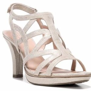 Danya Sandal in Taupe Gold by NATURALIZER Size 12W